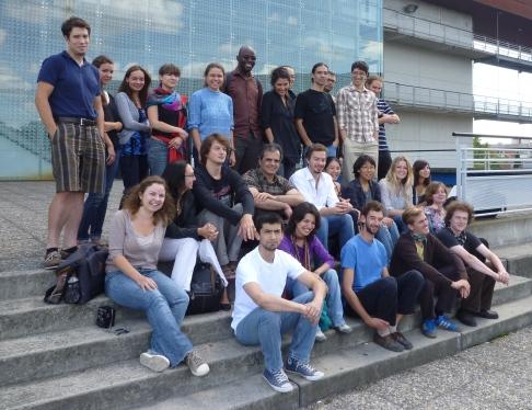 Etudiants des promotions 3 et 4 - stage d'intégration 2010