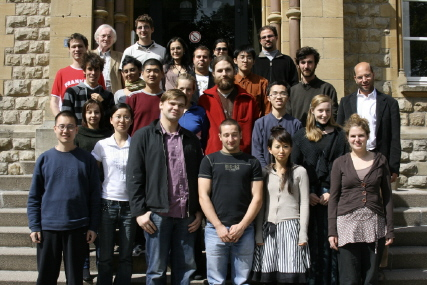 La première promotion du MEM EuroPhilosophie durant le stage d'intégration - sept 2007