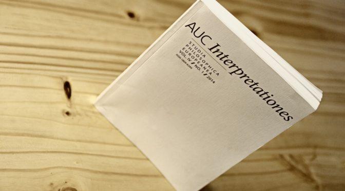 AUC Interpretationes – CALL FOR PAPERS